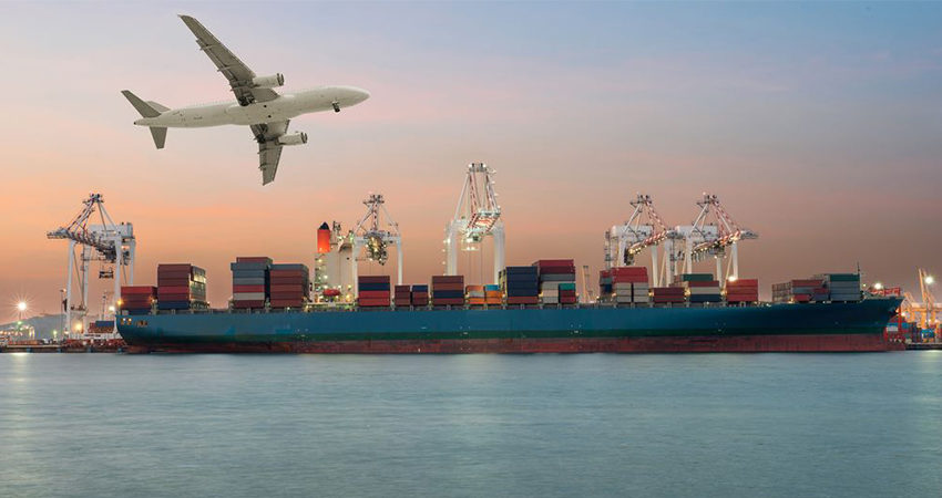 Ocean Freight or Air Freight